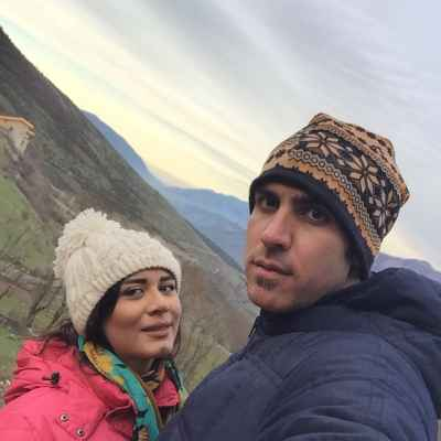 عکس جدید شهرام محمودی و همسرش سوگند خورشیدی